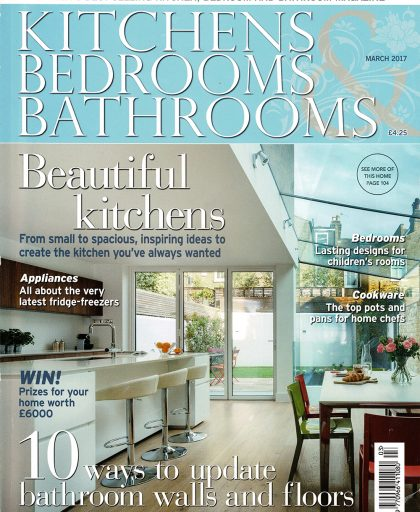 Front page of glossy KBB magazine