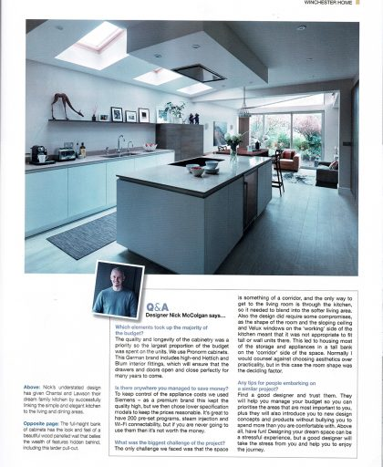 Q&A with kitchen designer Nick McColgan