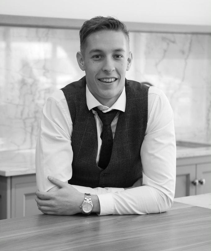 Jack Jarvis a design coordinator at SNug Kitchens Newbury Berkshire