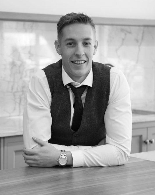 Jack Jarvis a design coordinator at SNug Kitchens Newbury Berkshire